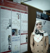 Azadeh Dastmalchi at 2013 grad student poster day